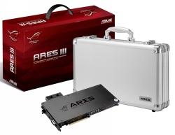 Двухпроцессорная видеокарта ASUS ROG Ares III занимает один слот