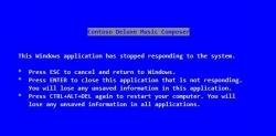 Текст для «синего экрана смерти» Windows написал Стив Балмер