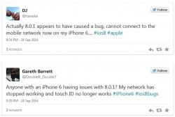 Apple отозвала обновление iOS 8.0.1 спустя часы после релиза