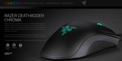 Razer выпустила игровую мышь DeathAdder Chroma