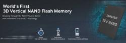 Ёмкость накопителей Samsung NVMe PCIe SSD на базе 3D V-NAND достигает 3,2 Тбайт