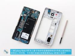 Samsung Galaxy Note 4 получил камеру Sony IMX240