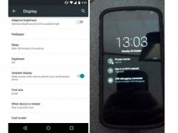 В Android 5.0 Lollipop появится функция активного дисплея