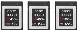 Карты памяти Sony G соответствуют стандарту XQD 2.0 и развивают скорость записи до 350 МБ/с