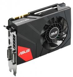 3D-карта Asus GeForce GTX 970 DirectCU Mini подойдет для малогабаритных ПК