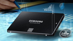 Линейка SSD Samsung 850 EVO официально анонсирована
