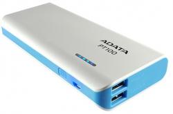 Внешний аккумулятор Adata PT100 емкостью 10000 мАч одновременно заряжает два устройства