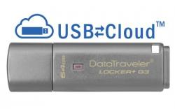 В накопителях Kingston DataTraveler Locker+ G3 появилась функция облачного резервирования данных