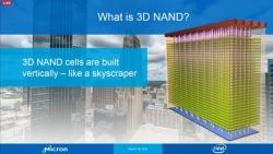 Micron и Intel представили флэш-память NAND с объемной компоновкой