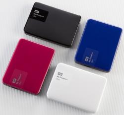 В седьмое поколение портативных жестких дисков WD My Passport Ultra и My Passport for Mac вошли модели объемом 3 ТБ