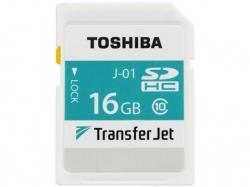Карта памяти Toshiba TransferJet SDHC объемом 16 ГБ способна передавать данные по беспроводному каналу со скоростью 375 Мбит/с