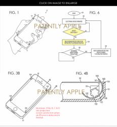 Apple патентует систему автоматической защиты дисплея iPhone