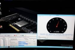Скорость чтения SSD Samsung PM1725 составила 5689 Мбайт/с