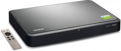 В сетевом хранилище QNAP Silent NAS HS-251+ используется четырехъядерный процессор Intel Celeron с пассивным охлаждением