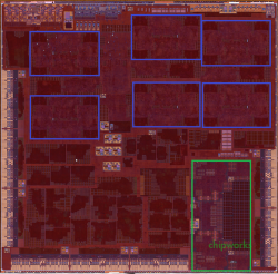 Apple A9X под микроскопом: два ядра ARMv8, огромный GPU и 128-битный контроллер памяти