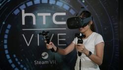 Официально: шлем виртуальной реальности HTC Vive выйдет в апреле