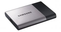 Скорость записи внешнего накопителя Samsung Portable SSD T3 достигает 450 МБ/с