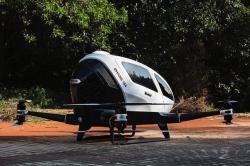 Ehang 184 – первый в мире полностью беспилотный одноместный дрон-вертолет