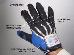 Самозаряжающаяся смарт-перчатка