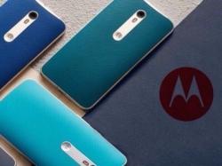Все новые смартфоны Moto выйдут со сканером отпечатков пальцев