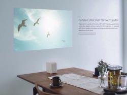 Ультрапортативный проектор Sony превращает любую поверхность в 80-дюймовый телевизор