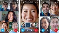 Skype для iOS и Android теперь поддерживает групповые видеозвонки