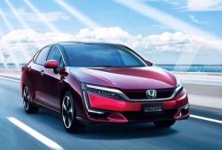 Honda начала продажи седана Clarity Fuel Cell на водороде