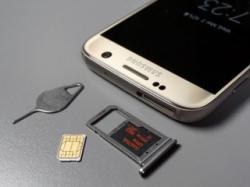 На Samsung Galaxy S7 Edge можно реализовать одновременную поддержку двух SIM и microSD