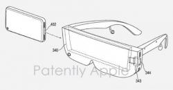 Apple патентует VR-гарнитуру для iPhone