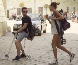 Велосамокат для городских улиц