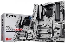 Материнская плата MSI Z170A MPower Gaming Titanium оснащена теплораспределительной пластиной