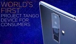 Смартфон Lenovo Project Tango оснастят дисплеем диагональю 6,4 дюйма с разрешение 2K