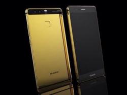 Huawei P9 вышел в золоте и платине