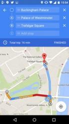 В Google Maps для Android и iOS появилась поддержка промежуточных пунктов назначения