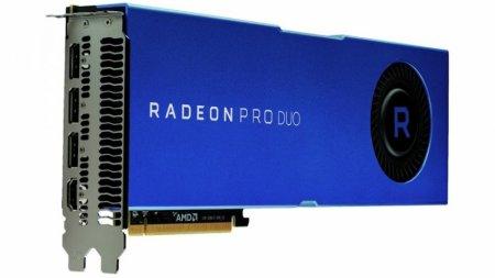 AMD показала обновленную версию Radeon Pro Duo