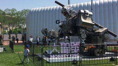 Китайская компания показала прототип пилотируемого робота Monkey King