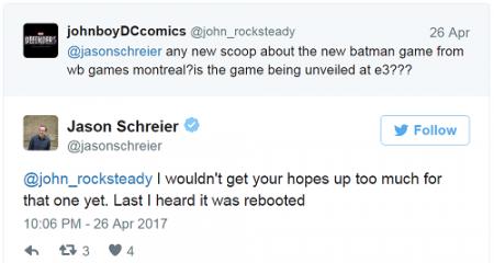Новая игра про Бэтмена от Warner Bros. Montreal перезапустит серию