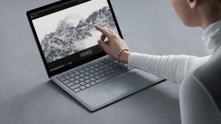 Microsoft показала новый ноутбук Surface Laptop