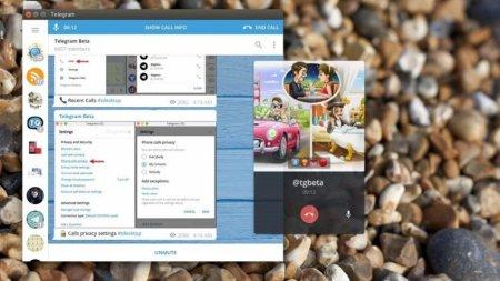 В десктопной версии Telegram появились голосовые звонки