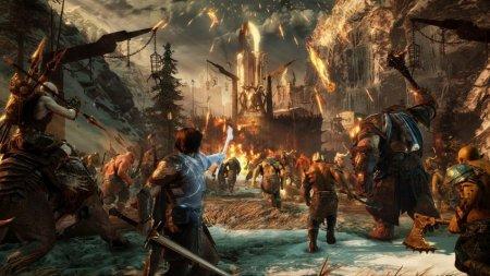 Новый ролик Middle-earth: Shadow of War посвятили завоеванию крепостей
