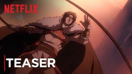Netflix показал дебютный трейлер сериала Castlevania