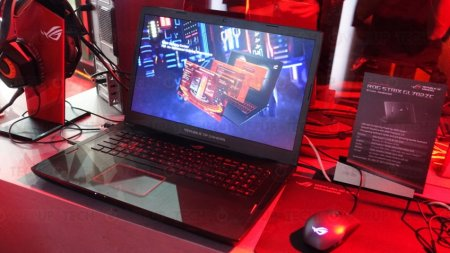 ASUS показала игровые ноутбуки на базе Ryzen и NVIDIA Max-Q