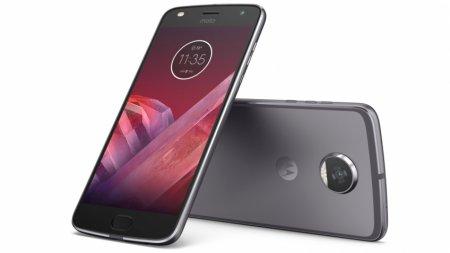 Lenovo представила смартфон Moto Z2 Play и сменные модули Moto Mods