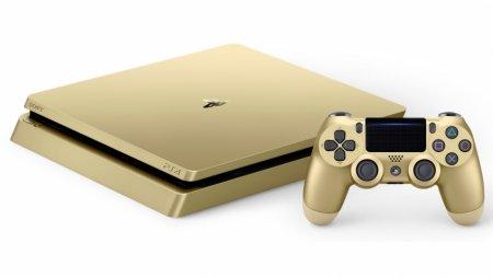 Sony выпустит ограниченную партию золотых и серебряных PS4 Slim