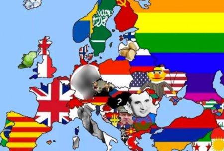 Создана «самая раздражающая» карта Европы
