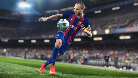 Эксклюзивный геймплей PC версии Pro Evolution Soccer 2018