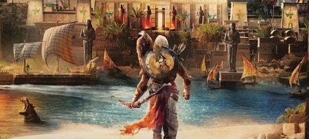 Исследование подводного мира древнего Египта в Assassin's Creed Origins