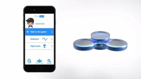 Bluetooth-спиннер позволит отслеживать успехи своего владельца
