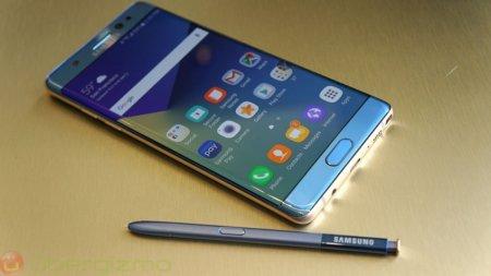 Samsung, возможно, представила дизайн Galaxy Note 8