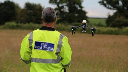 В Великобритании появилась «беспилотная полиция»